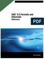 SAS Formats and Informats