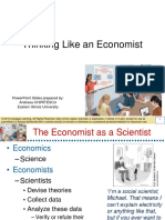 chapter 2 Think liking a economist