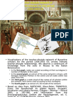 Teacher-disciple Network of Byzantine Sc