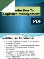 L8 Logistics Management