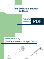 Lesson 28 Radiation Exchange Between Surfaces.ppt
