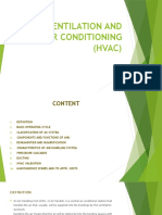 Heat Ventilation and Air Conditioning (Hvac)