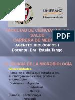 Clase Generalidades y Estructura Bacterirana