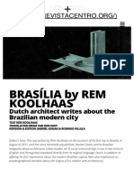 Brasília by Rem Koolhaas – en _ Revista Centro