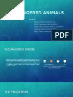 Animales en Peligro de Extinción en Ingles