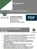 L07 Knowledge Strategy I
