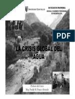 La Crisis Global Del Agua