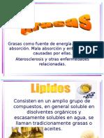 Grasas_Clase de Nutrición