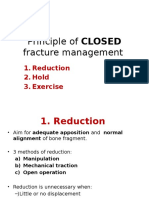 Principle of Fracture Management