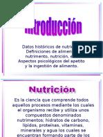INTRODUCCIÓN_Clase de Nutrición