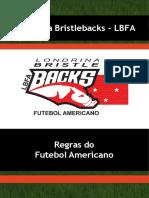 EDF Regras FutebolAmericano LondrinaBristleBacks Apostila-LBFA