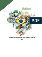 Manual Formatação Raízes Do Brasil 2016