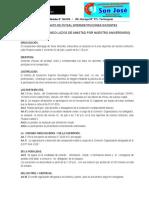 Bases de Futsal Docentes Intersecciones