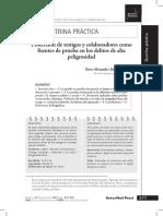 Protección de Testigos y Colaborades Como Fuentes de Prueba. Eiser Alexander Jiménez Coronel