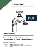 Abastecimento de Água e Saneamento Rural
