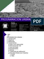 programacion urbana  ICA