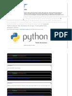 UPWORK Python Test