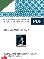 Proceso de Auditoría