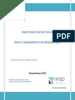 Directorio Sector de Aguas