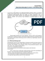 Training Report on PLC