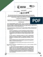 RESOLUCION 0002684-2015