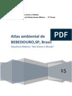 Atlas ambiental de Bebedouro,SP,São Paulo