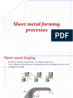 PE123 Sheet Metal Fsheet metal formingorming, Turning (2013)