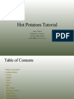 Hot Potatoes Tutorial