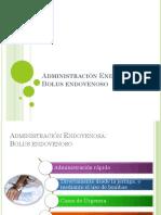 Bolus endovenoso, farmacocinética