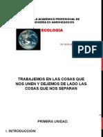 Clase 1. Ecologia