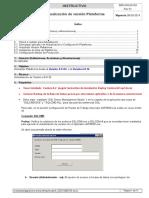 Actualizacion de Version Plataforma a 6016