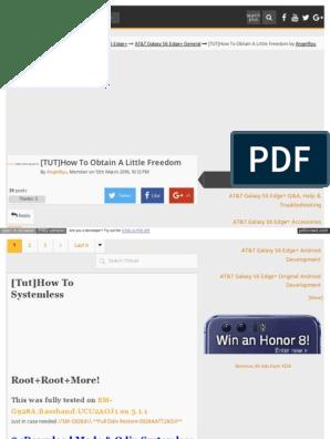 Forum Xda Developers Com Att Galaxy s6 Edge Plus General Tut
