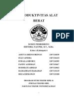 Produktivitas Alat Berat pada Konstruksi Pelabuhan.docx