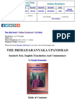 The Brihadaranyaka Upanishad- Information Only