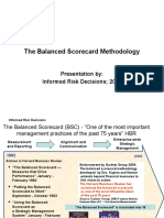 The Balanced Scorecard Methodology