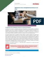 5 Actividad La Definicion de La Competencia Lectora en El Marco de Evaluacion-57549d2a32f94