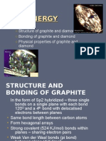 Energy - Diamond and Graphite