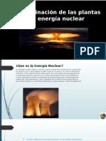 Contaminación de Las Plantas de Energía Nuclear