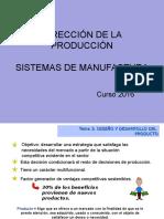 Manufactura Fases Del Proceso de Diseño
