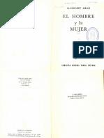Mead Margaret - El Hombre Y La Mujer(OCR - Opt)