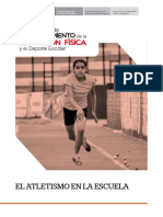 Atletismo a nivel escolar
