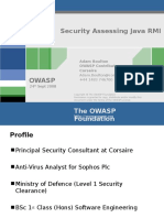 Adam Boulton Security Assessing Java RMI - OWASP NYC