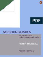Sociolinguistics The Study Of Speakers Choices Pdf