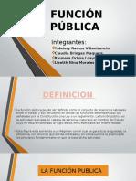 Diapositivas de Funcion Publica