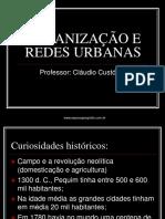 Urbanização e Redes Urbanas