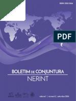 Boletim de Conjuntura Nerint V. 1, N. 2, 2016
