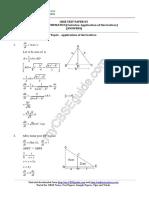12 Mathematics Calculus Application of Derivatives 05 Answer b77a