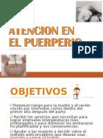Atencion Puerperal