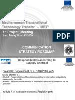 MET3 Communication NHRF