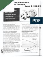 Worthington D1022 Pump DataSheet P-701